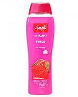 Шампунь для всей семьи Amalfi Клубника 750мл/ 88-1