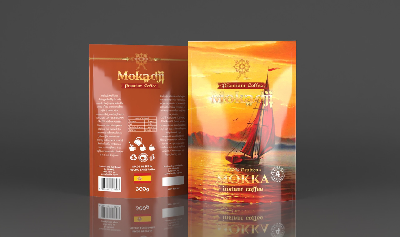 Mokadji Mokka 300 г. растворимый
