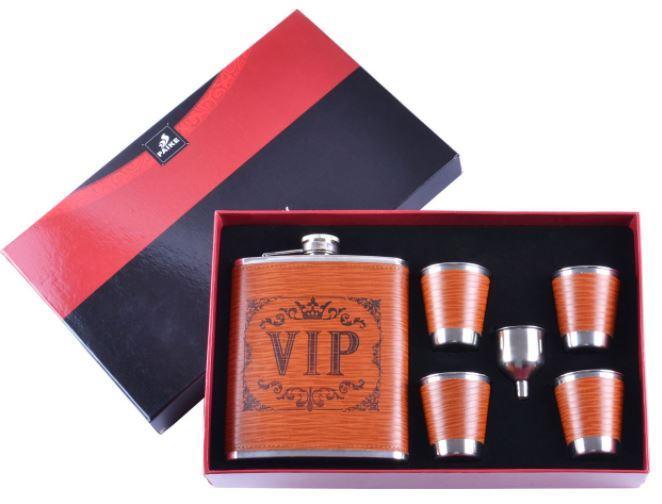 Подарочный набор с флягой для мужчин VIP №DJH-2073-1