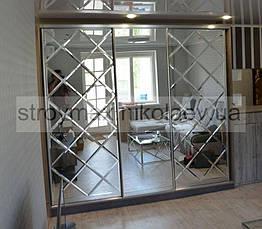 Дзеркальна Плитка з фацетом 15мм ПФС 300*300 (срібло) Україна UMT