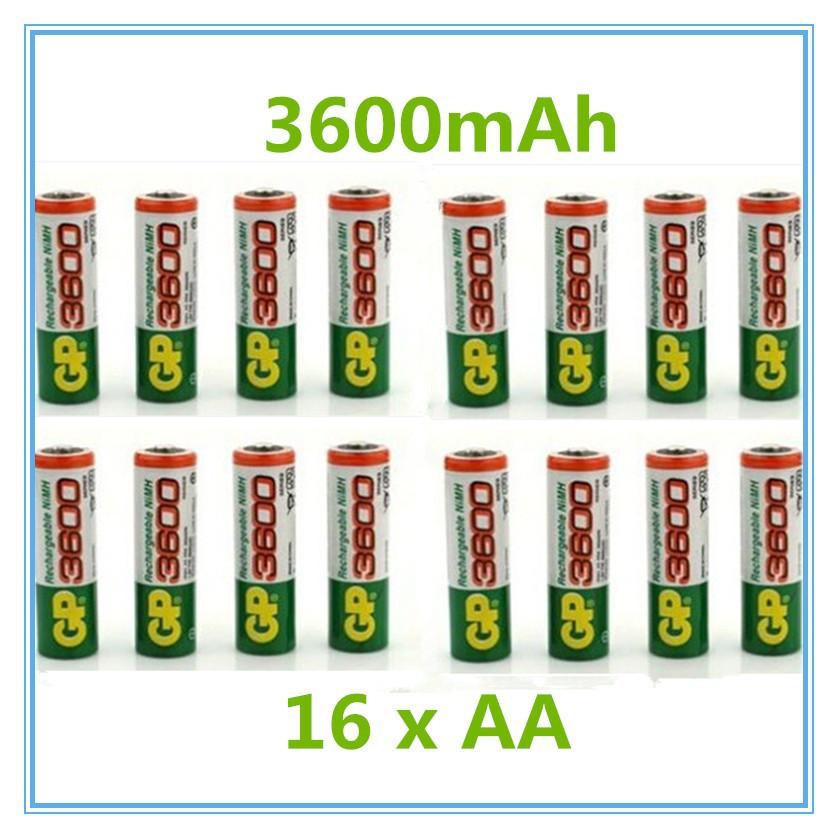 GP AA аккумуляторная батарея 3600 мАч ,аккумулятор 1.2 В Ni MH