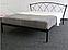 JASMINE 1 - металлическая кровать ТМ МЕТАКАМ, фото 3