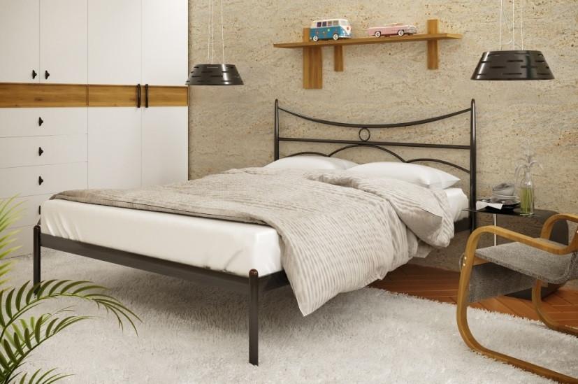 Металлическая кровать Barselona-1 (Барсалона -1) ТМ Метакам без изножья