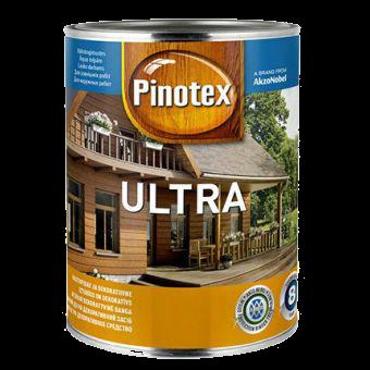 Pinotex ULTRA 1л , тиковое дерево