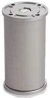 Ножка для мебели 100 мм алюминиевая