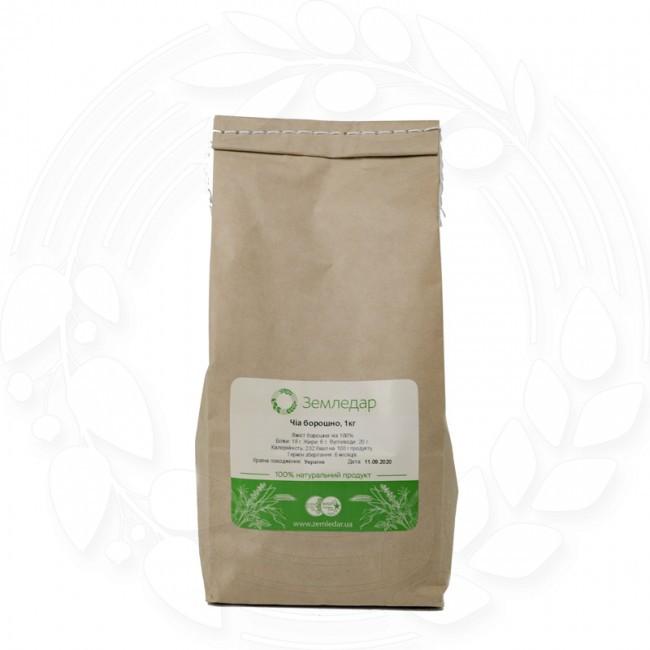 Мука семян чиа 1 кг.  без ГМО
