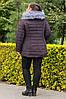 Теплая зимняя женская куртка большого размера, фото 4