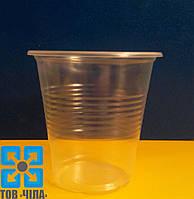 Одноразовый стакан пластмассовый 100 мл (100 шт.)