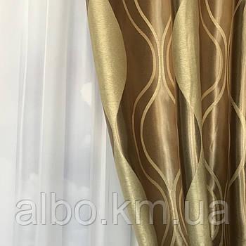 Готові штори та гардини для спальні кімнати квартири залу, двосторонній Блекаут в кухню хол зал вітальню кімнату, звукопоглинальні