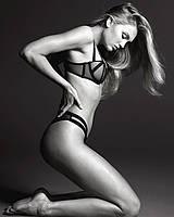 Привлекательный бюст Victoria's Secret балконет art592187 (Черный, размер 34DD)