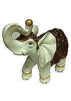 Слон белый с золотым слитком