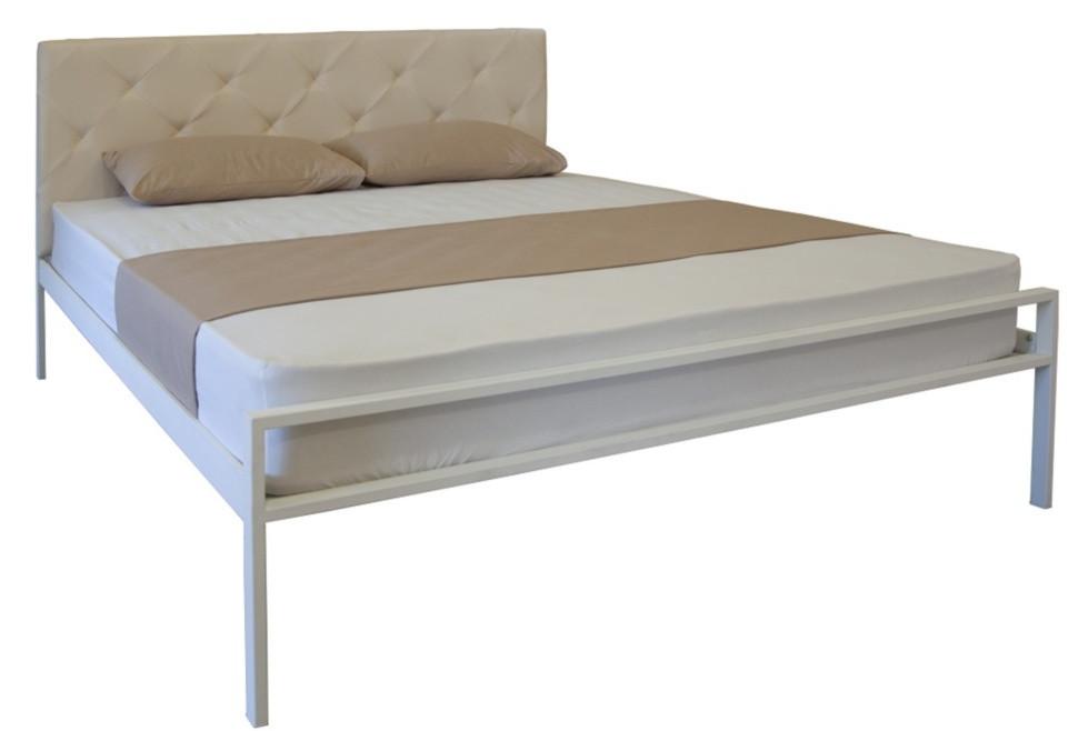 Кровать двуспальная Бланка 02 с изножьем TM Melbi