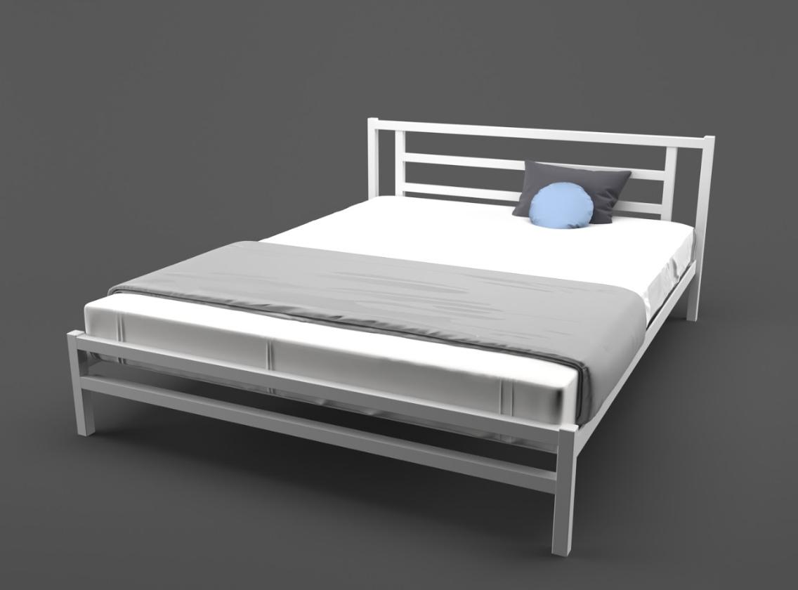 Кровать двуспальная Берта с изножьем TM Lavito