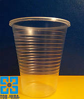 Одноразовый стакан пластмассовый 180 мл, АТЕМ (100 шт.)