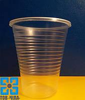 Одноразовый стакан пластмассовый 180 мл (100 шт.)