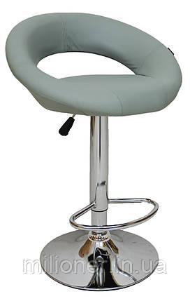 Барный стул хокер Bonro B-650 серый, фото 2