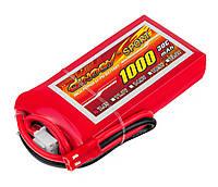 Аккумулятор Dinogy Li-Pol 1000mAh 7.4V 2S 30C 14x35x68мм JST [54509-13]