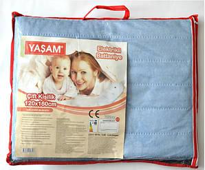 Электропростынь  Yasam електро простинь 120 x 160 Турция. Электро простынь ясам