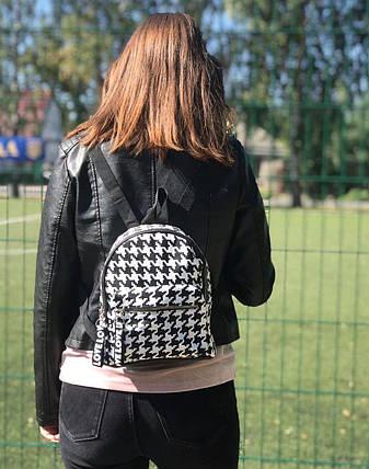 Рюкзак женский городской из кожзама с принтом BR-S (1207235803), фото 2