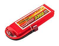 Аккумулятор Dinogy Li-Pol 3300mAh 14.8V 4S 30C 26x43x142мм T-Plug [54579-13]