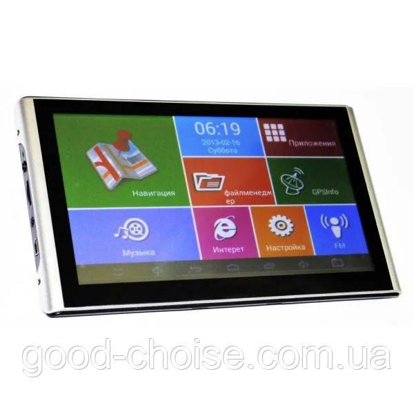 """Автомобильный навигатор GPS X7 android 7"""" 512mb 16gb / сенсорный экран"""