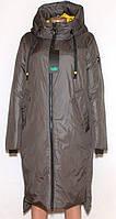 Куртка пальто жіноче зима, розмір 48-58