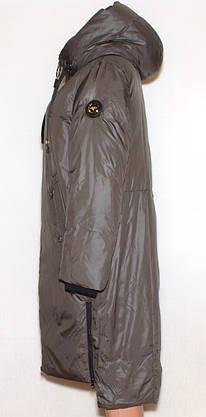 Куртка пальто жіноче зима, розмір 48-58, фото 2