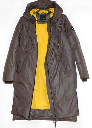 Куртка пальто жіноче зима, розмір 48-58, фото 3