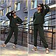Костюм спортивный женский стильный размер 42-48, купить оптом со склада 7км Одесса, фото 3