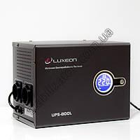 LUXEON UPS-800L - ИБП для котла - бесперебойник - УПС -UPS