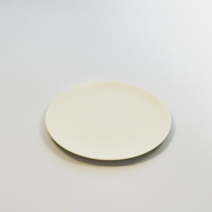 """Тарелка круглая 6"""" (15,2 см) без борта Костяной фарфор YF009"""