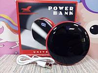 Портативное USB зарядное устройство  Power bank с Led индикатором 8800 mAh красный