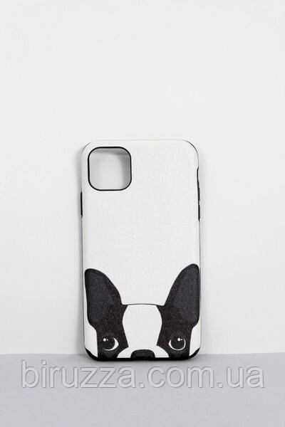 Чехлы для iPhone Чехол для iPhone 11 Pro Max Кот и Пёс белый One size (Hol-22)