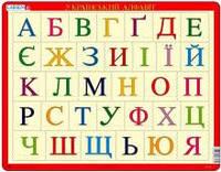 Рамки-вкладыши ' Азбука (украинская), серия Макси ' Larsen LS13