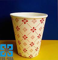 Бумажные стаканчики 175 мл с рисунком (50 шт.)