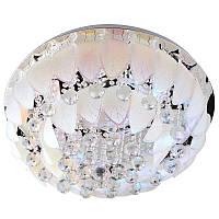 Люстра потолочная торт с подсветкой большая умная BCL-623C/9 E14, фото 1