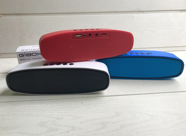 Колонка портативная G-668 с USB+SD+ Bluetooth + FM радио
