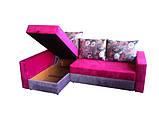 """Угловой диван """"Бали"""" розово-серый. витрина 98., фото 3"""