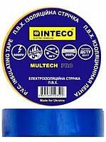 Изолента Inteco 50 м синяя