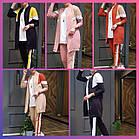 Женский спортивный костюм полубатал SK0006, разные цвета, двунитка, 50/52-54/56, фото 2