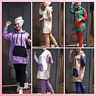 Женский спортивный костюм полубатал SK0006, разные цвета, двунитка, 50/52-54/56, фото 3
