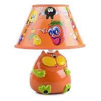 """Настольная лампа для детской """"Кот"""" TP-018 E14 OR"""