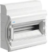 Щит наружной установки с прозрачной дверцой, 18(20) модулей, Hager Vector IP65