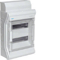 Щит наружной установки с прозрачной дверцей, 24(28) модулей, Hager Vector IP65