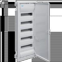 Щит внутренней установки с металлической дверцей без клем, 60(70) модулей, Hager Volta