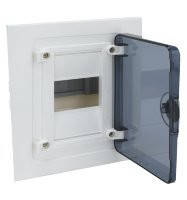 Щит внутренней установки с прозрачной дверцей, 4 модуля (1x4), Hager Golf