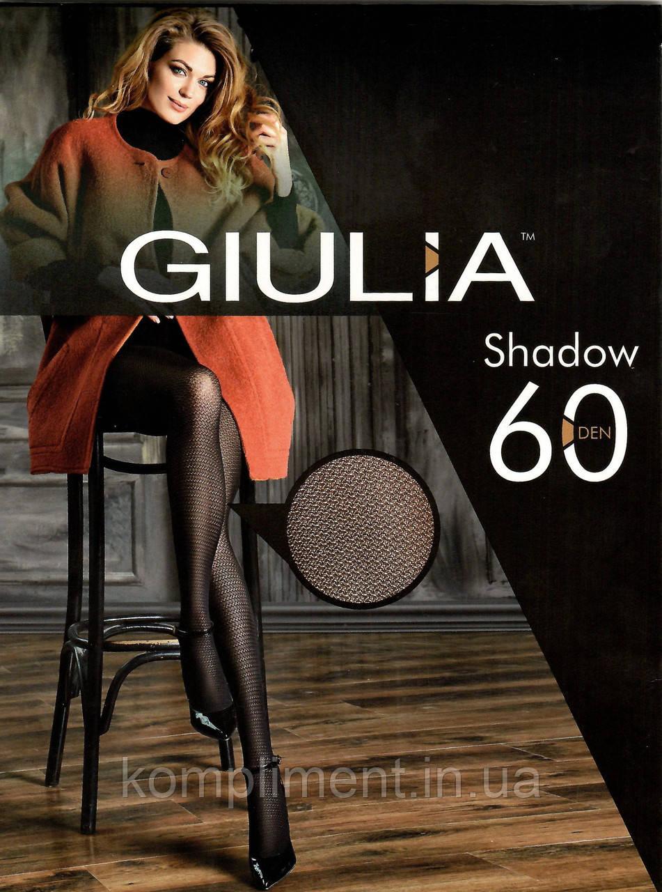 Колготки женские с ажурным рисунком GIULIA  Shadow 60 model 10