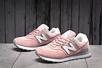 Кроссовки женские 17883 ► New Balance  574, светло-розовые . [Размеры в наличии: ], фото 1