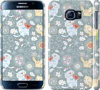 """Чехол на Samsung Galaxy S6 G920 Котята v3 """"1223c-80"""""""