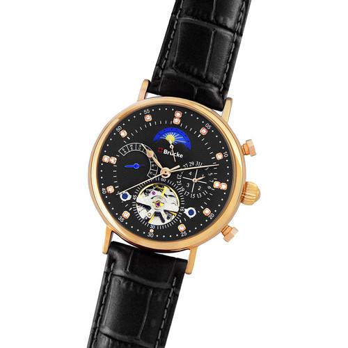 Мужские часы Brücke J025 Black-Cuprum